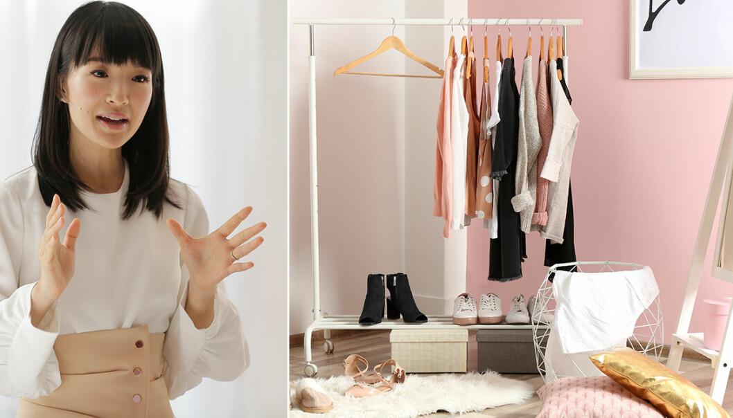 Skapa ordning och reda i garderoben med KonMari-metoden