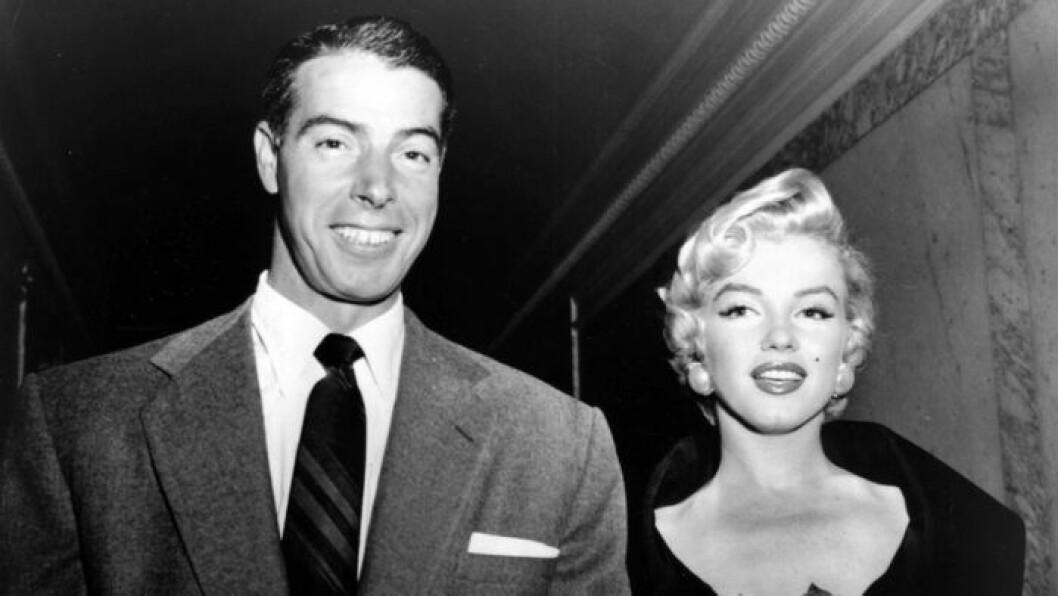 Marilyn och Joe Di Maggio