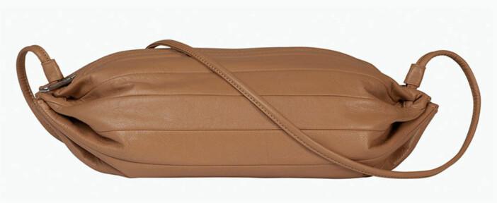 Marimekkos väska Karla i brun/beige nyans.