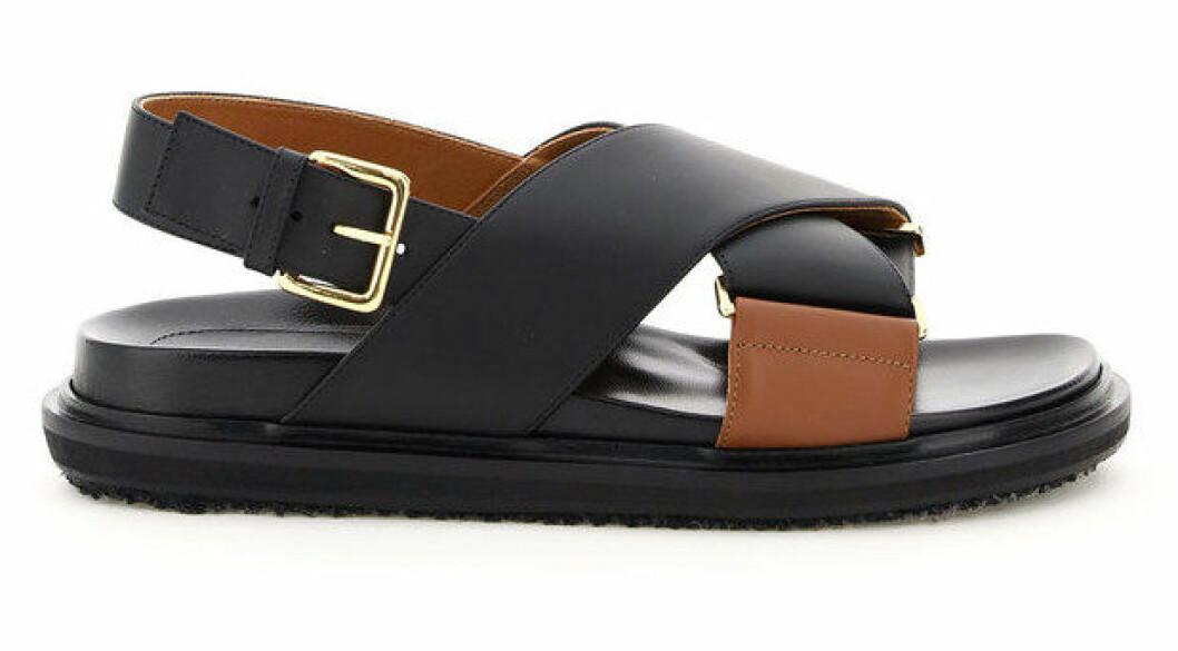 Chunky sandaler från Marni.