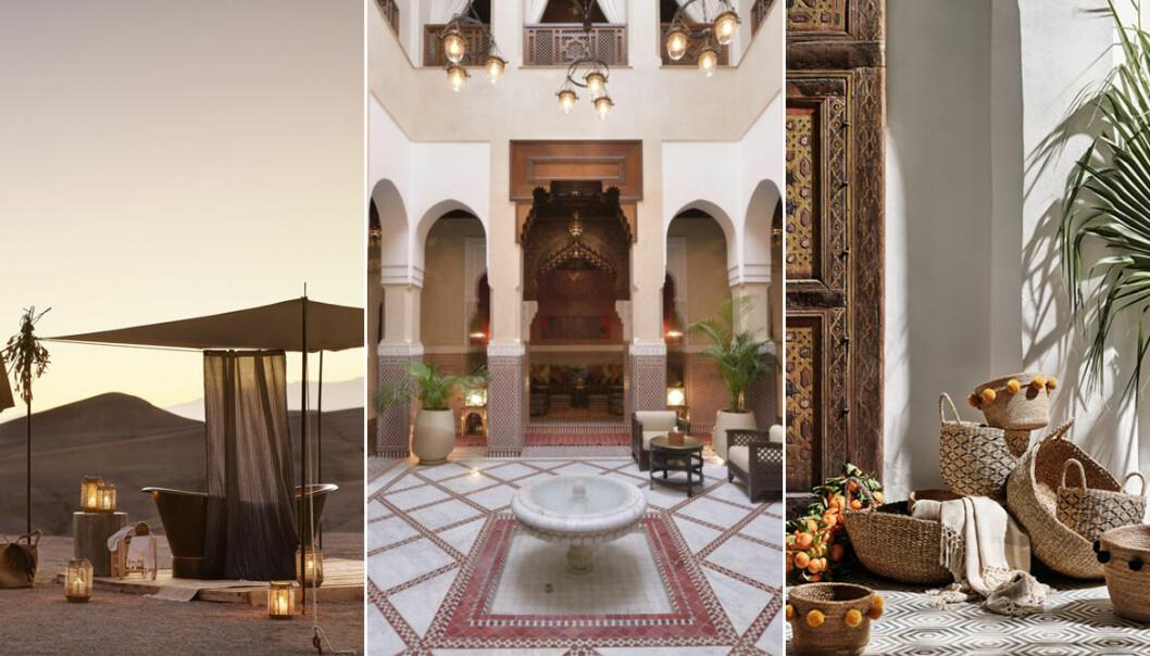 Inredningstips till balkongen med inspiration från Marrakech!