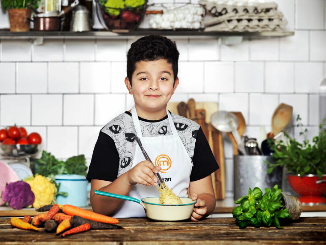Aran Moosavi, 10 år, Stockholm.