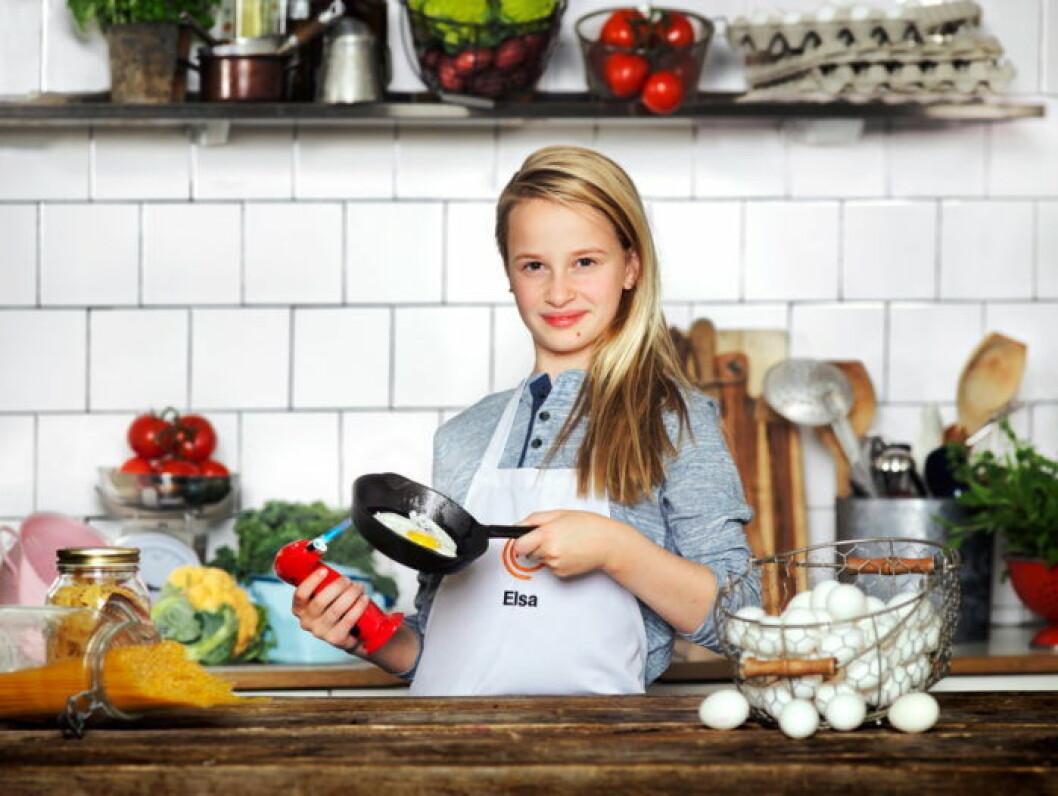 Elsa Valentin, 11 år, Stockholm.