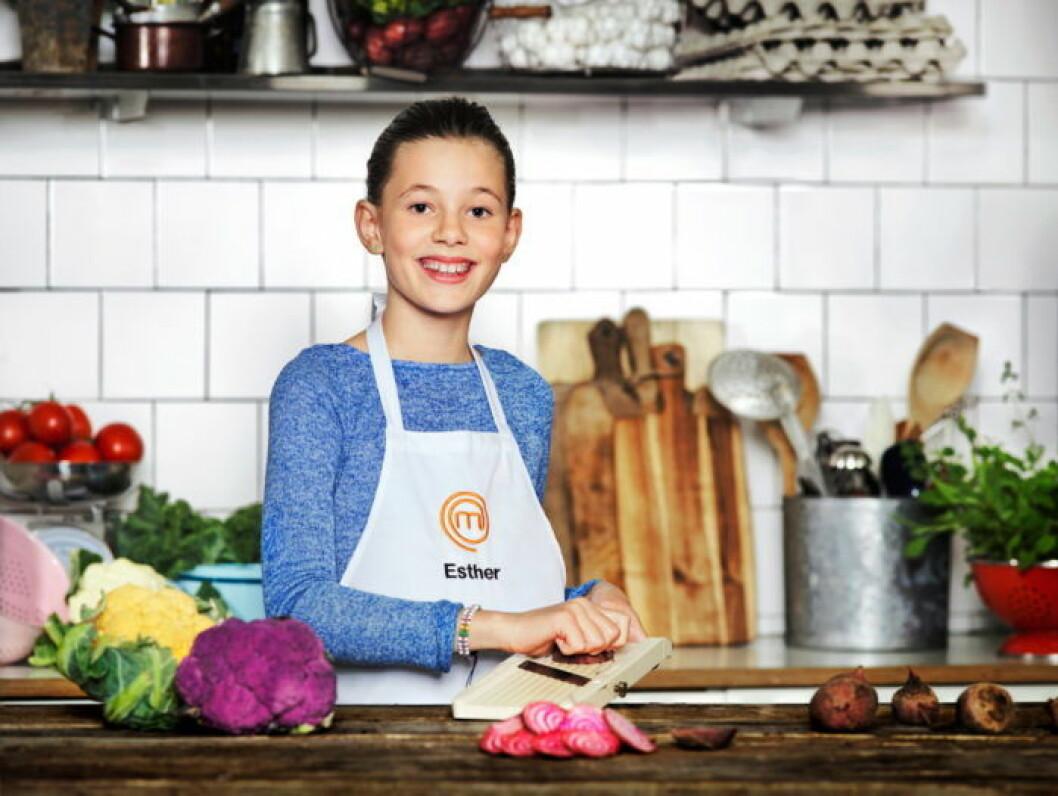 Esther Belmonte, 10 år, Stockholm.