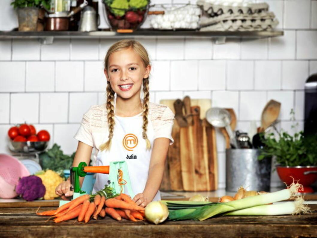 Julia Palm, 11 år, Viken.
