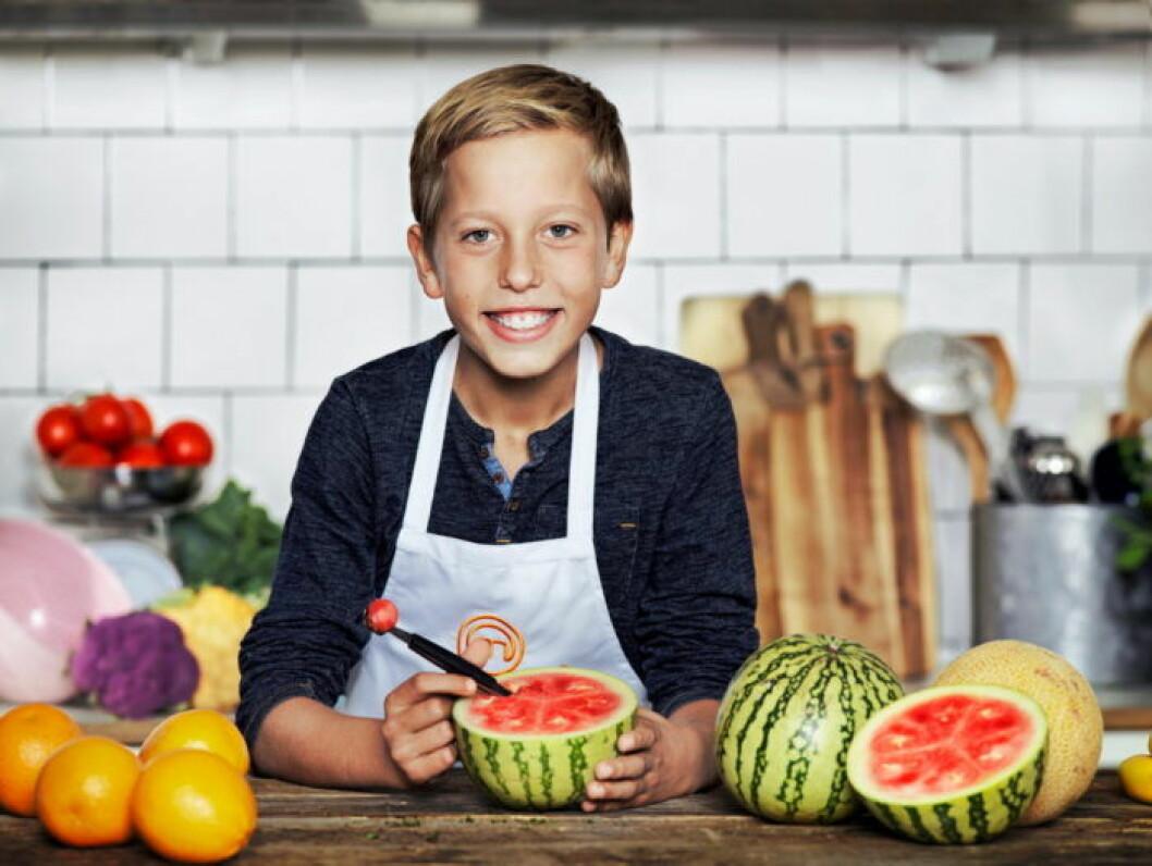 Melker Svensson, 12 år, Linköping.