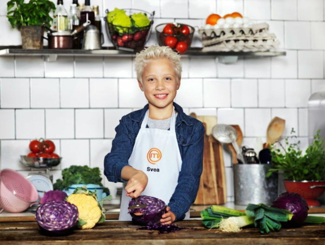 Svea Wendelius, 10 år, Stockholm.