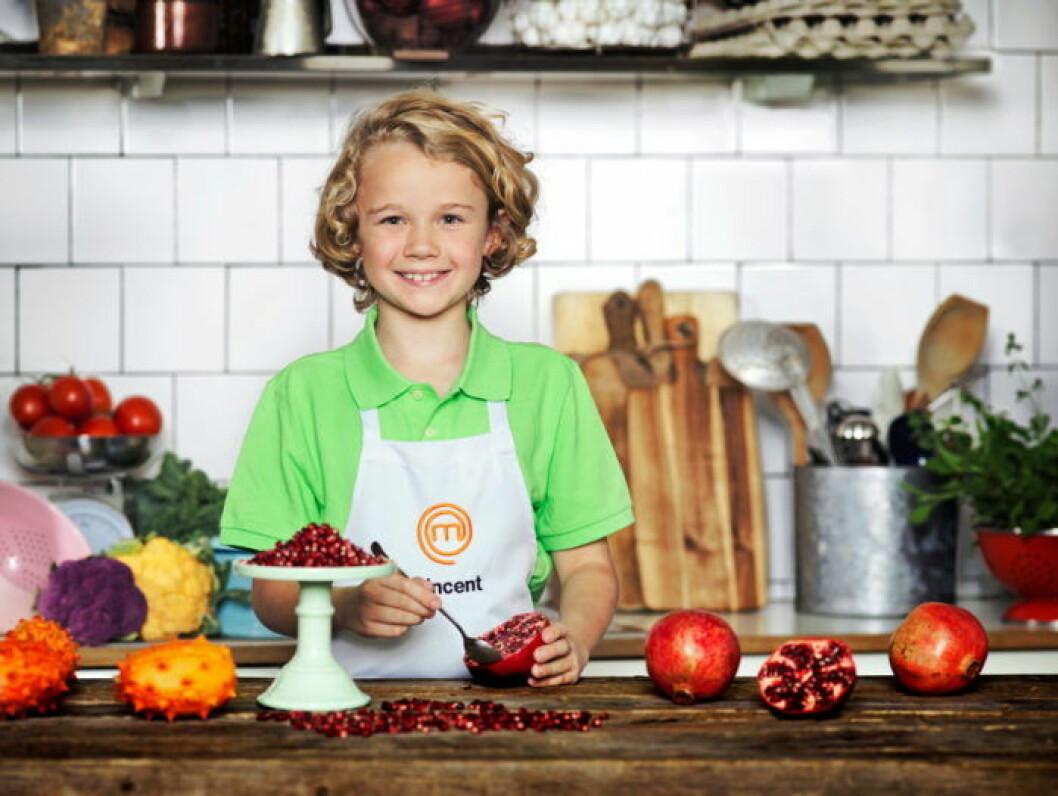 Vincent Kalinowski, 10 år, Stockholm.