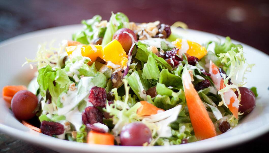 Frukt och grönt är bra för den psykiska hälsan.