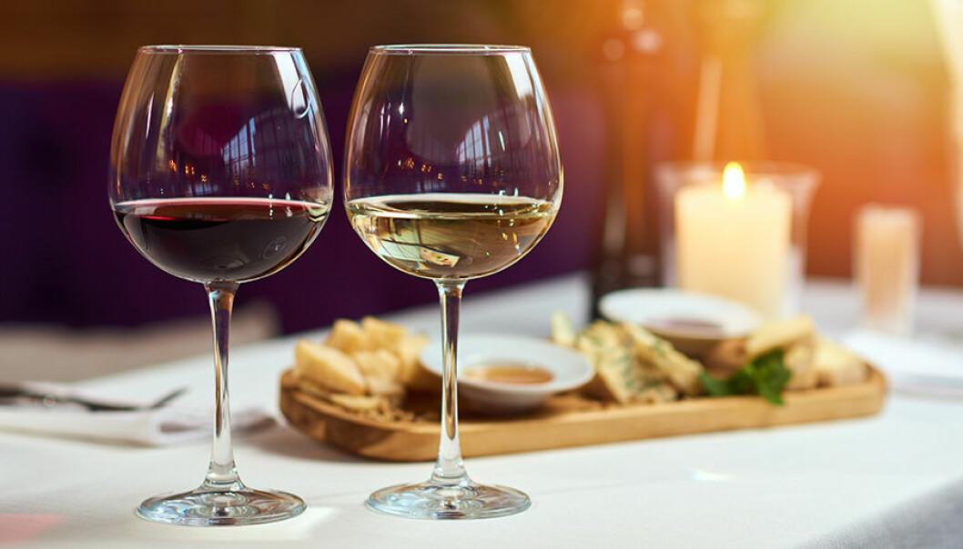 Föredrar du rött eller vitt vin till maten?