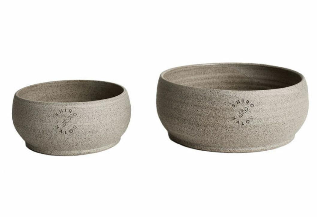 Matskålar hund och katt i keramik