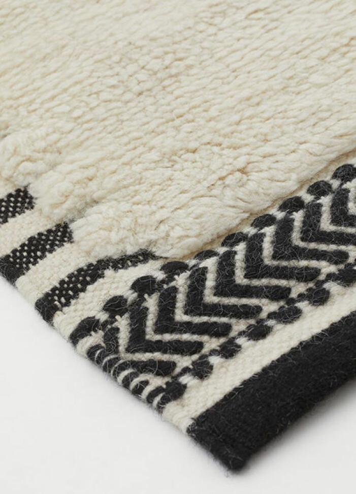 matta ull från hm home