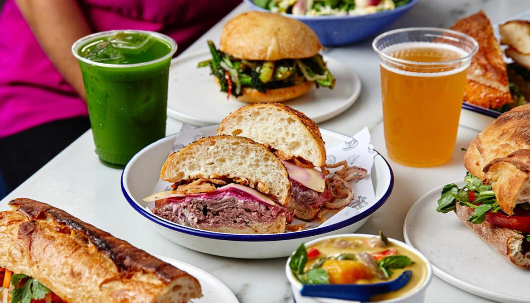 Trendig mat och dryck från Daily Provisions i New York.