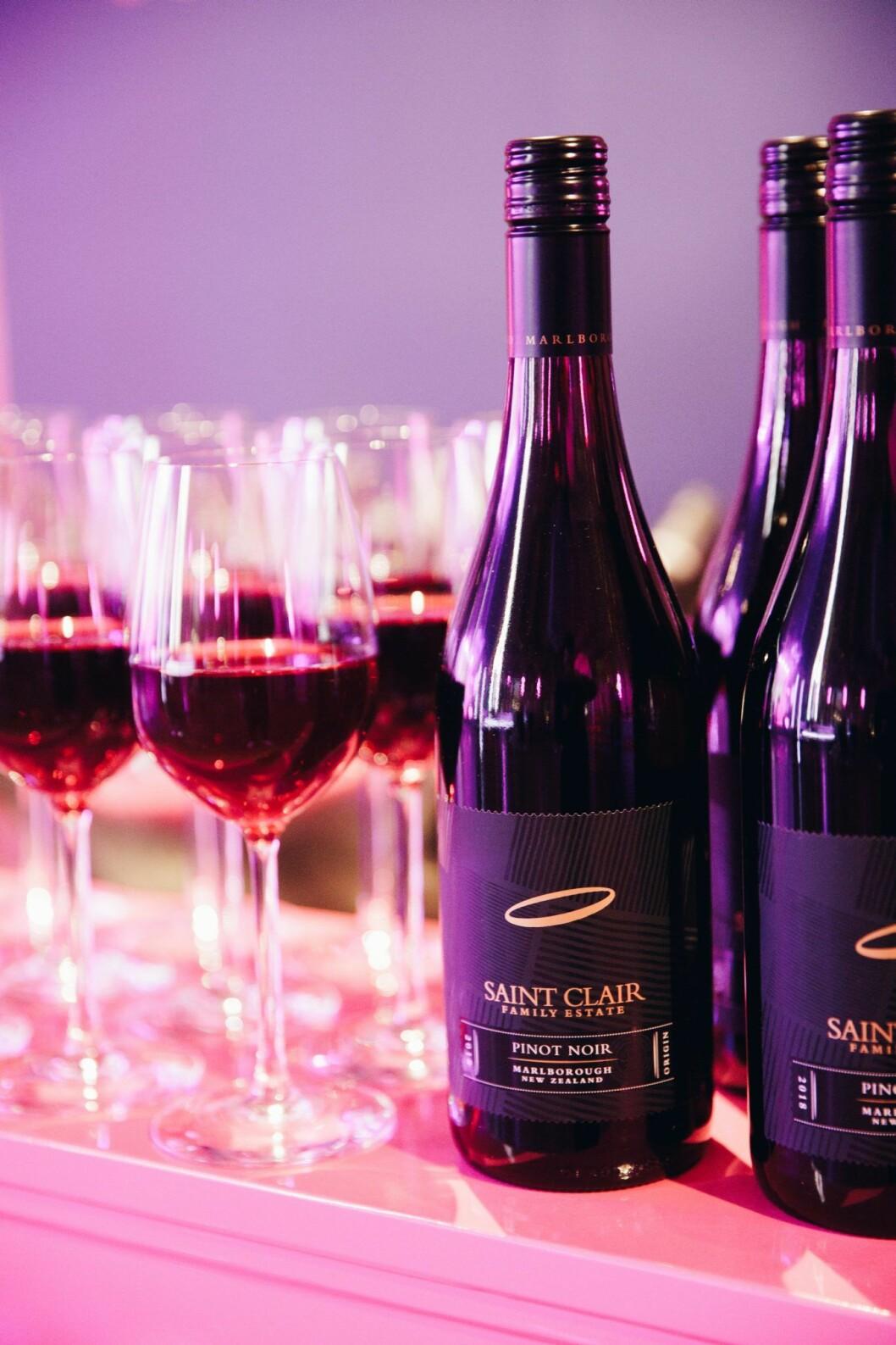 Rött vin till maten är en mattrend från ELLE-galan 2020