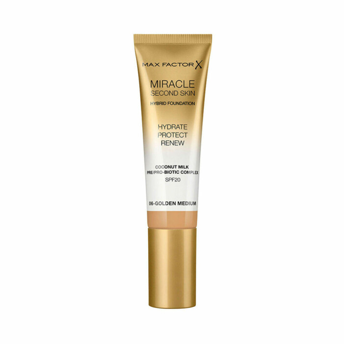 Max Factor Miracle second skin foundation recension omdöme bäst i test