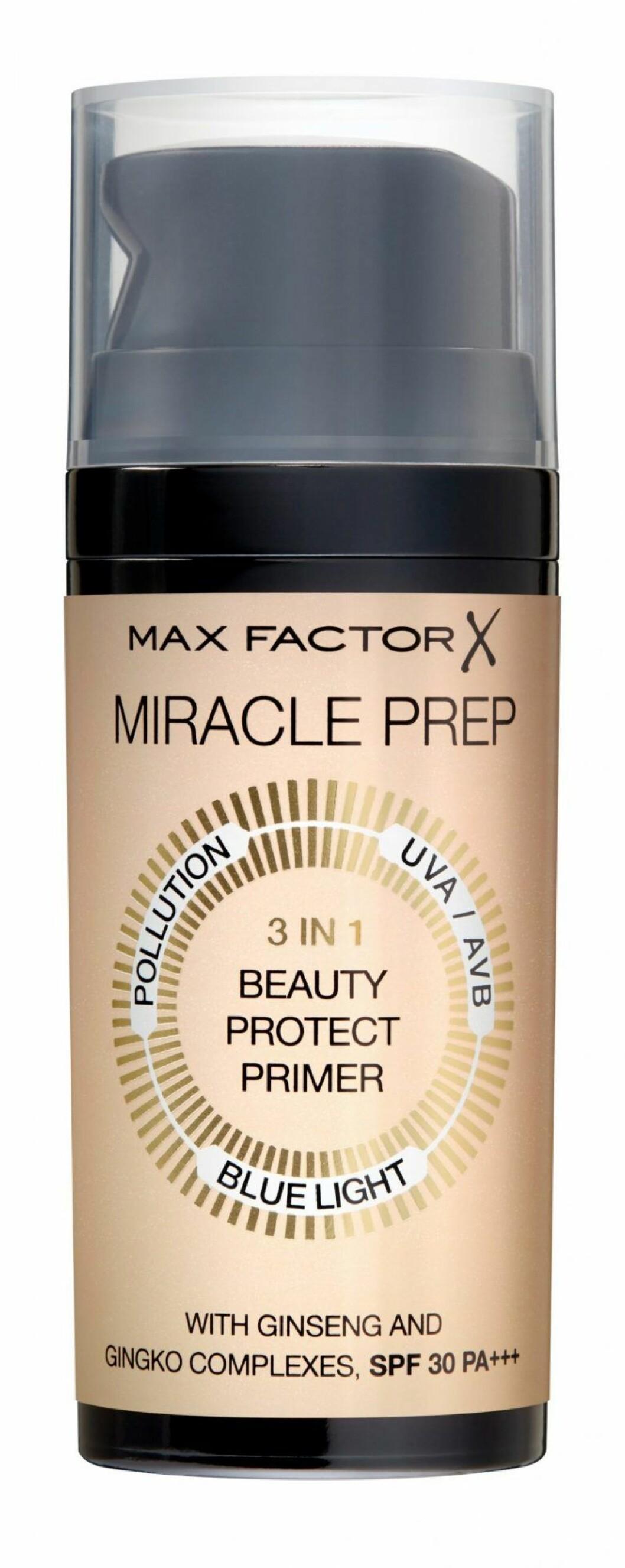 Miracle prep primer från Max Factor, årets bästa basmakeup