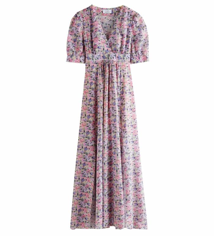 blommig maxiklänning midsommar