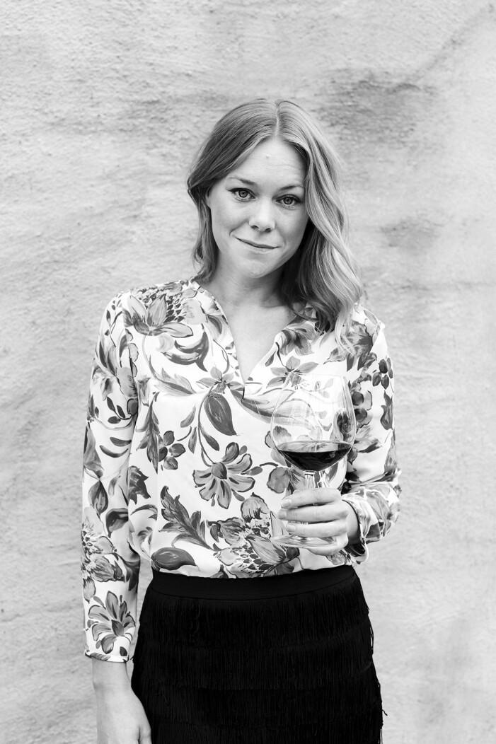 Maya Samuelsson, sommelier, dryckesexpert ELLE mat & Vin