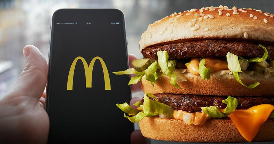 McDonald's börjar med hemkörning genom Uber Eats.
