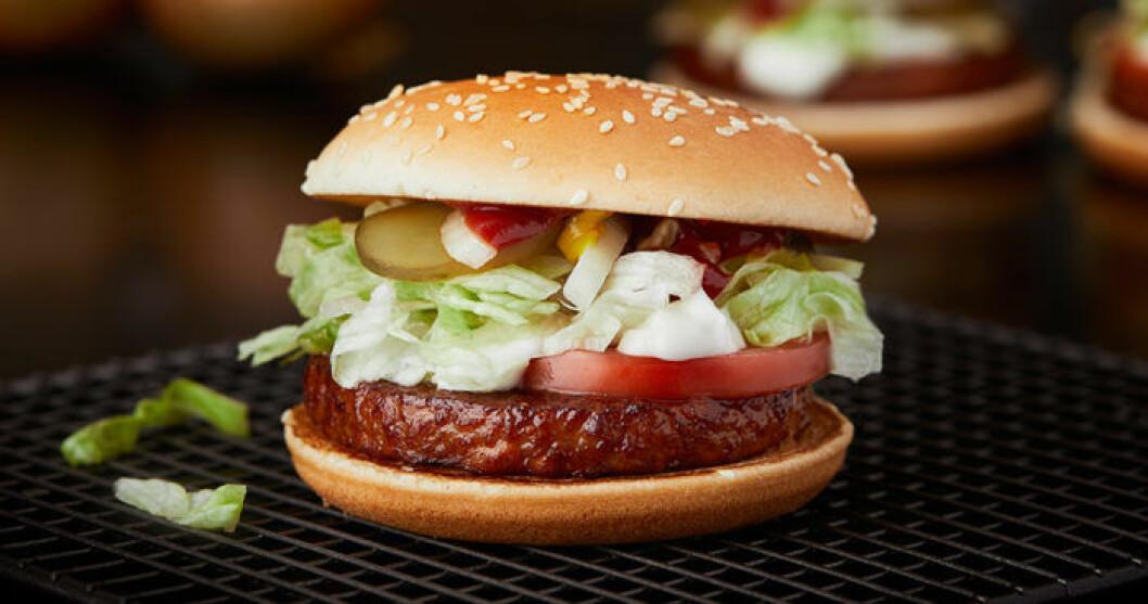 McDonald's lanserar McVegan.