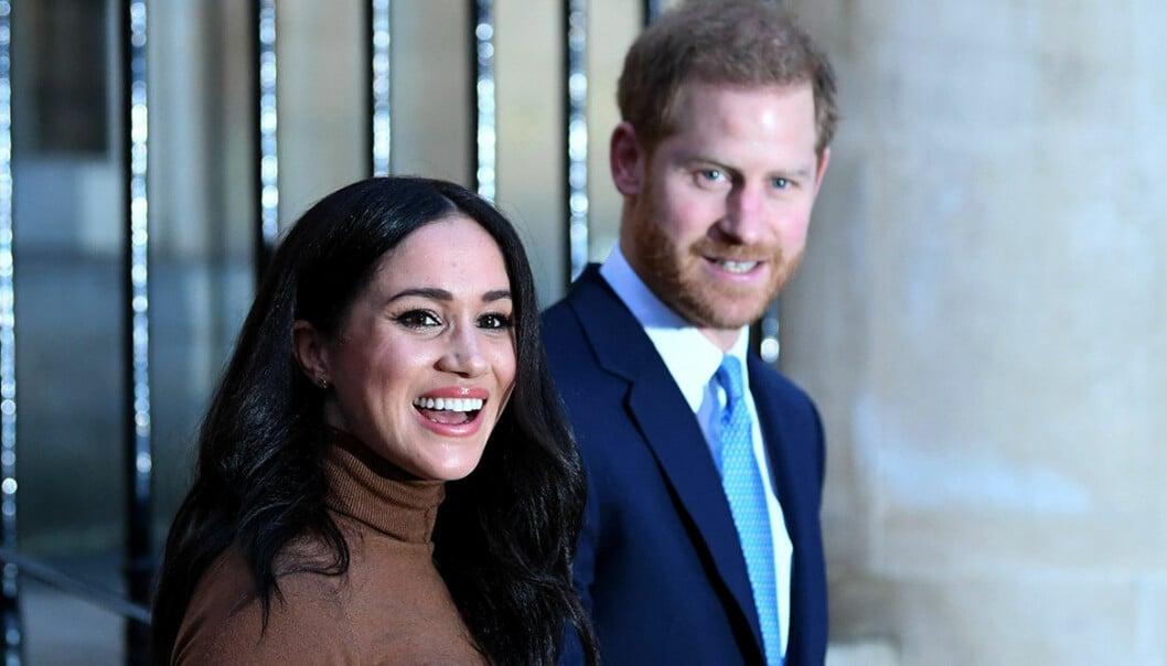 Meghan Markle och maken prins Harry.
