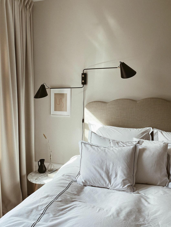 Johanna Bradfords sänggavel för Melimeli