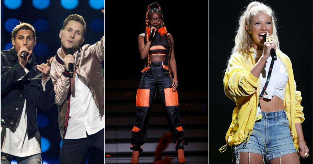 Artister i Melodifestivalen 2018.