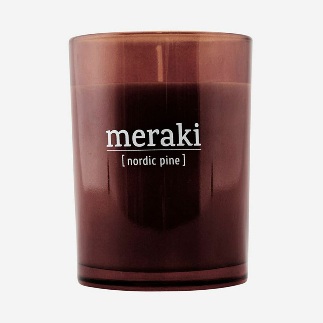 Nordic Pine doftljus från Meraki