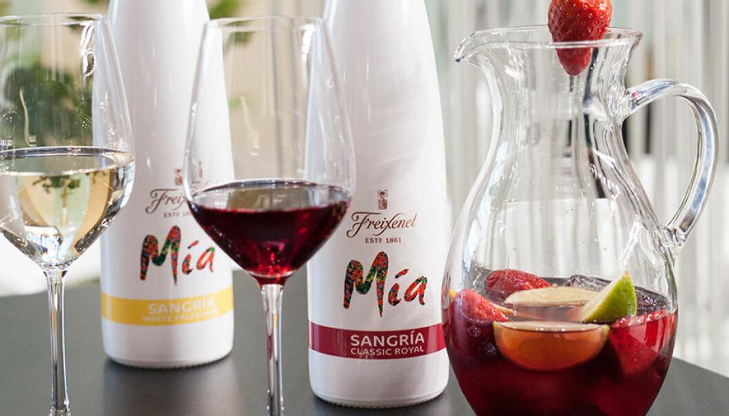 Mia Sangria lanserar vit och röd sangria.