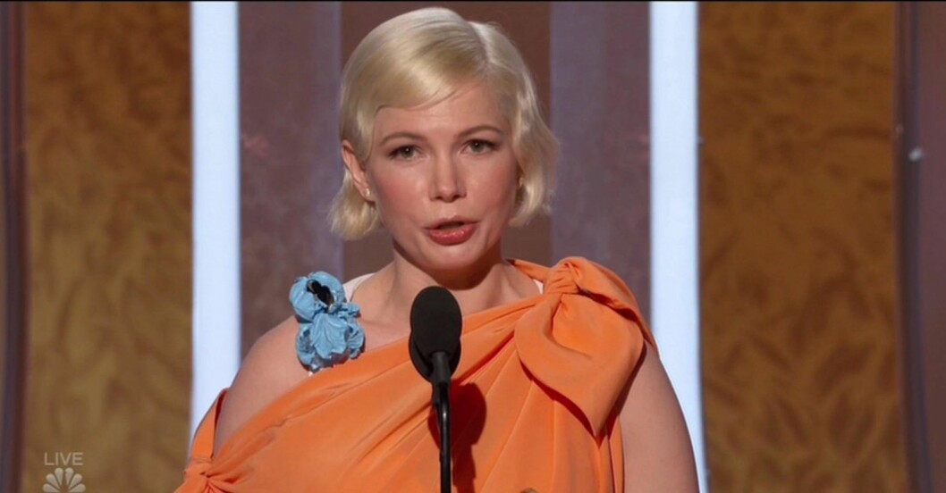 Michelle Williams på Golden Globes 2020