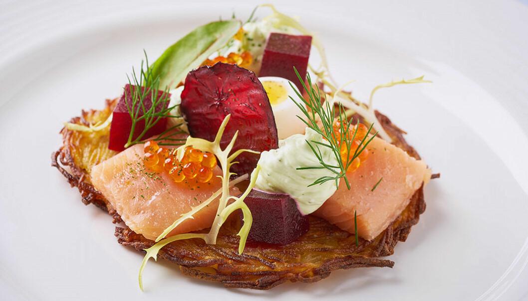 Mat värdig en Michelinrestaurang.
