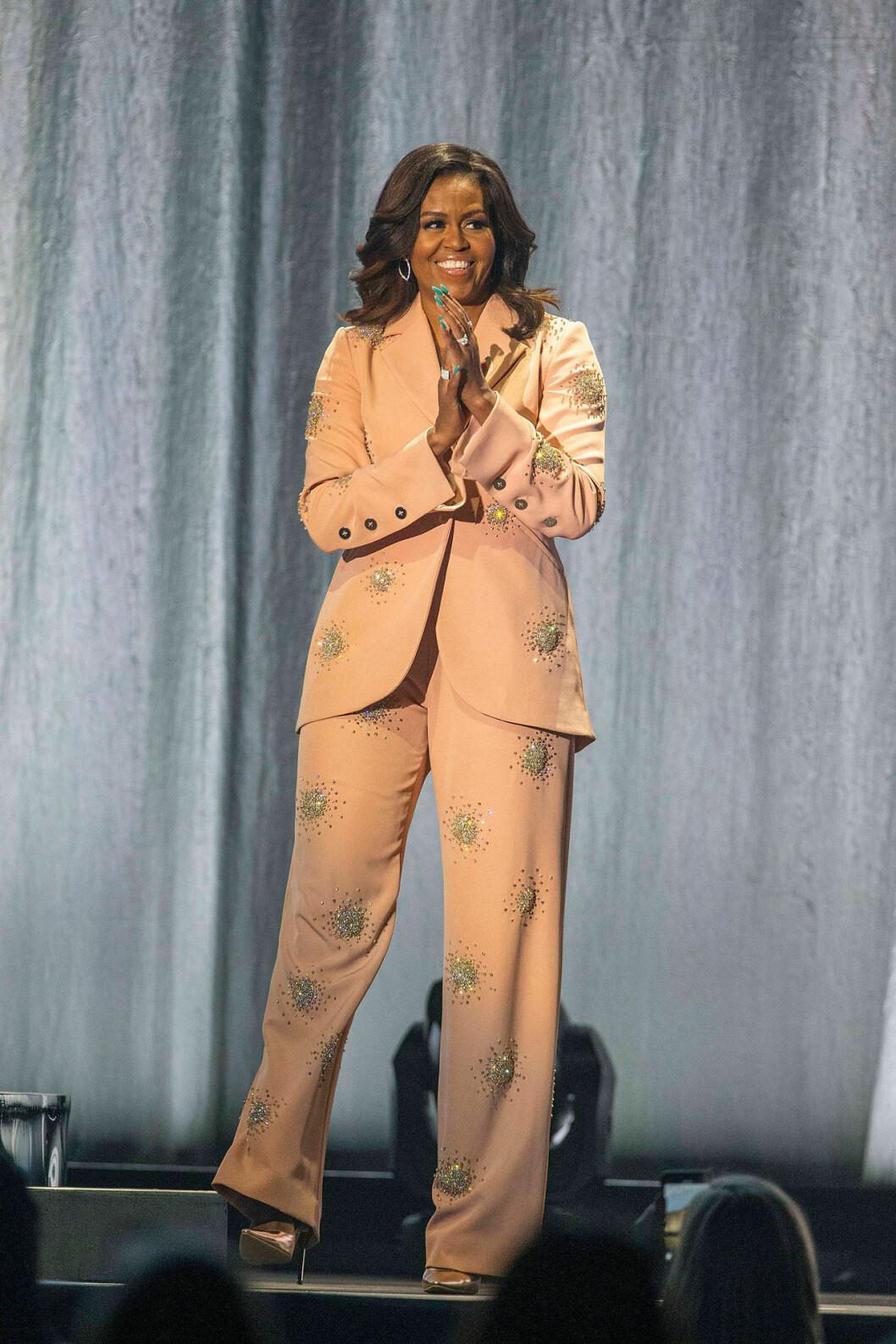 Michelle Obama på scen