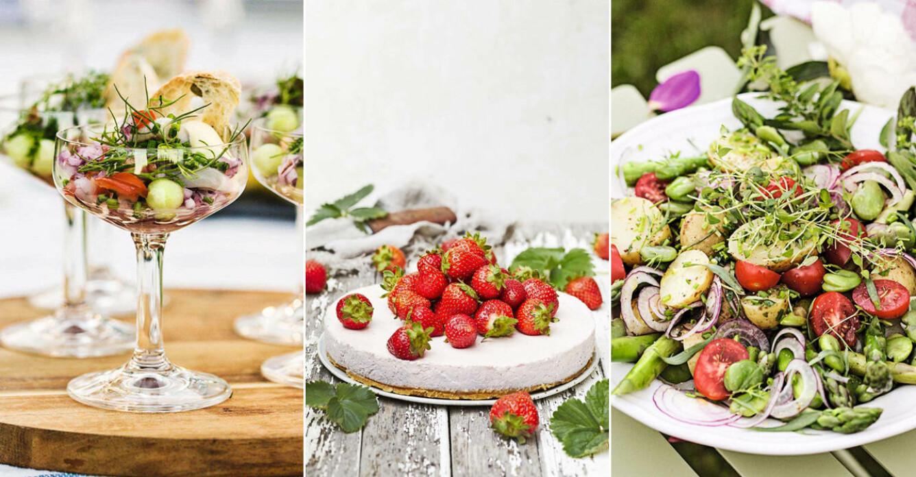midsommarmat, lyxiga och klassiska rätter
