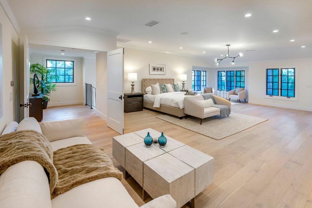 Bild på Miley Cyrus nya sovrum