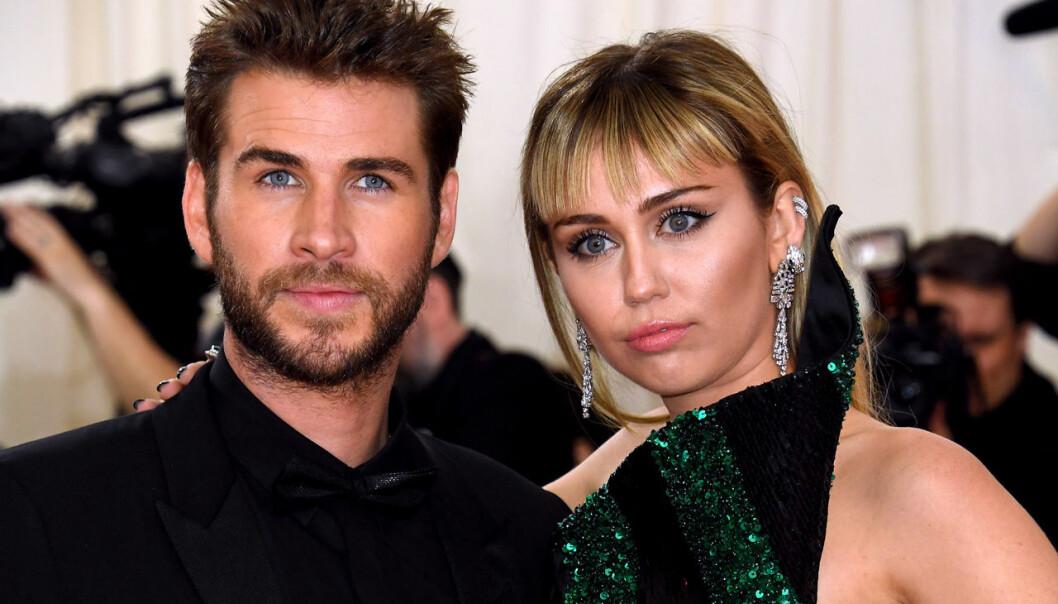 Miley och Liam hade svårt att bestämma sig.