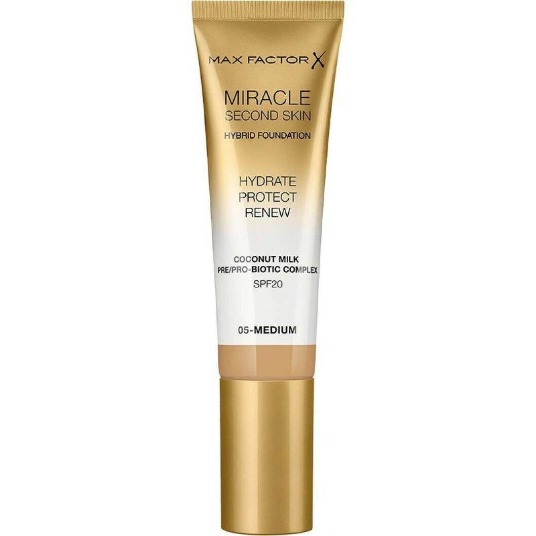 Miracle second skin foundation från Max Factor