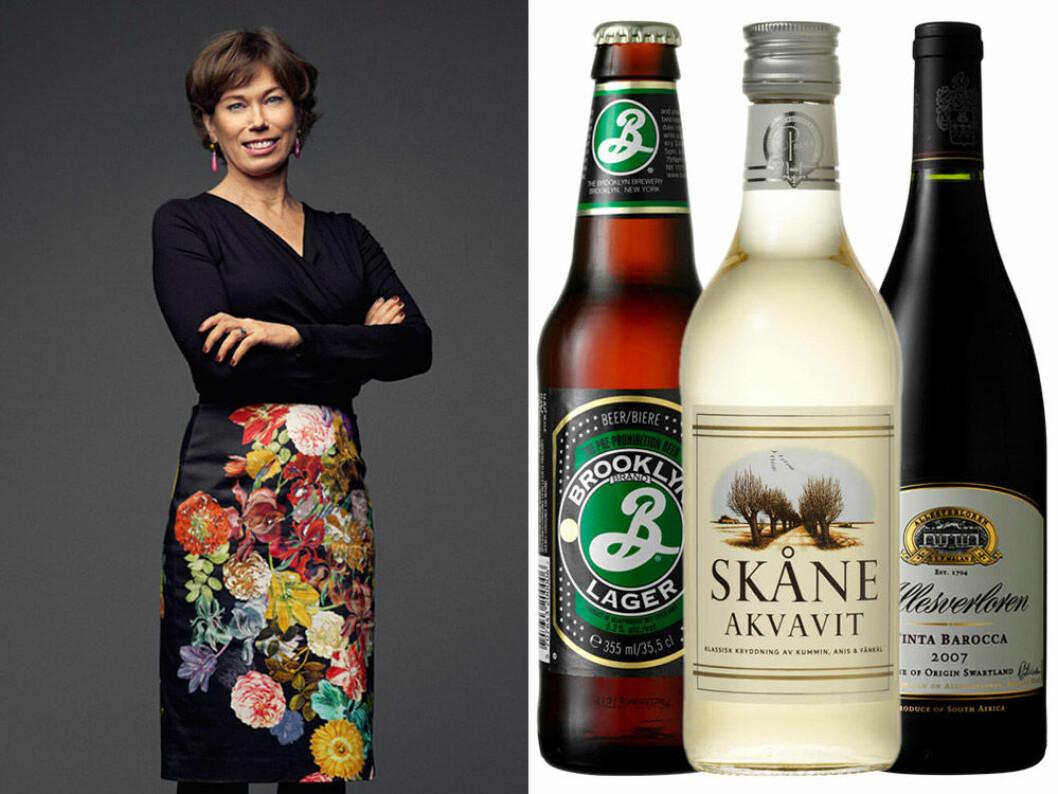 Mischa Billings bästa dryckestips. Foto: Pär Bäckstrand/TV4