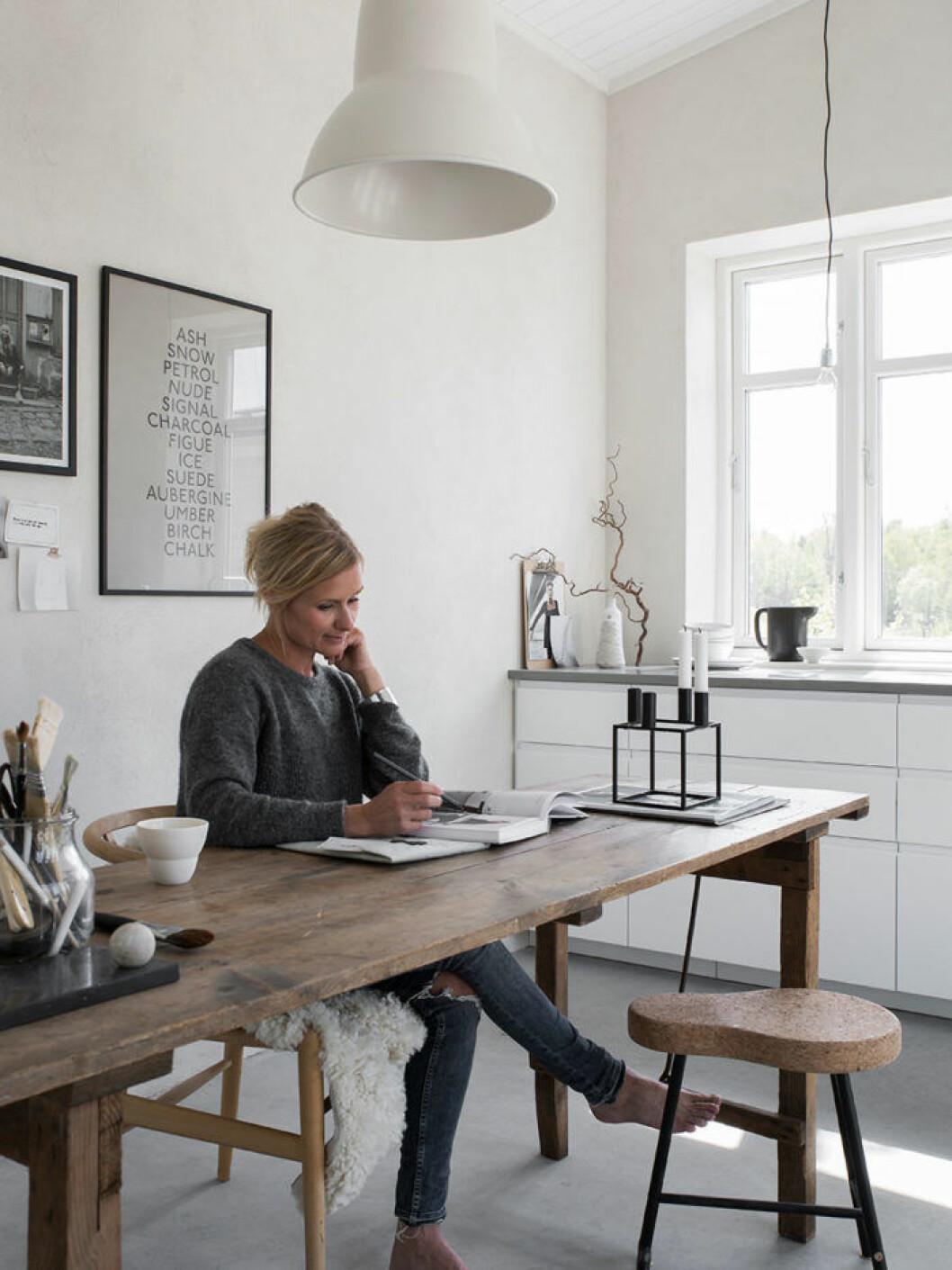 Pella Hedeby börjar blogga för ELLE Decoration.