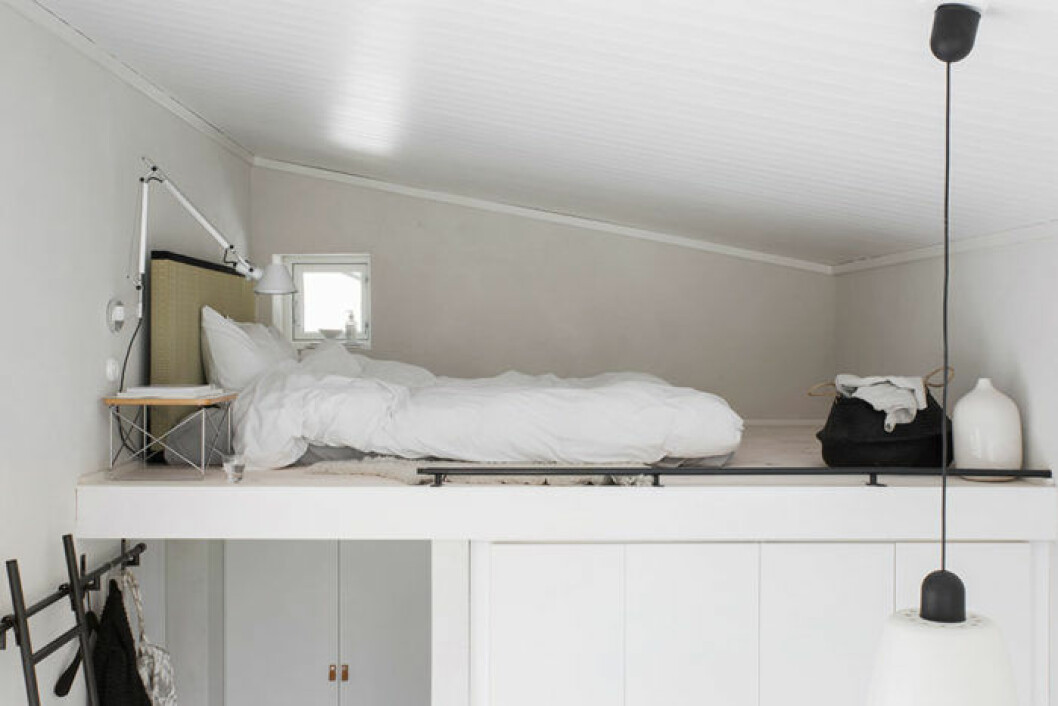 Compact living på hög nivå i Pellas attefallshus.
