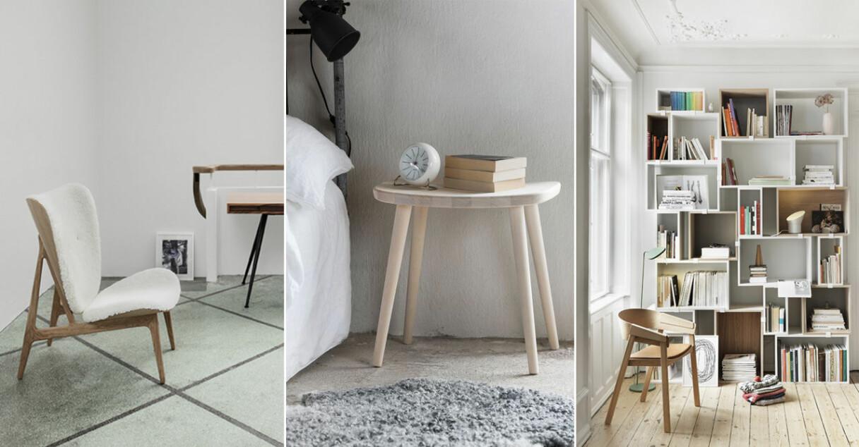 Möbler och inredningsdetaljer i trä