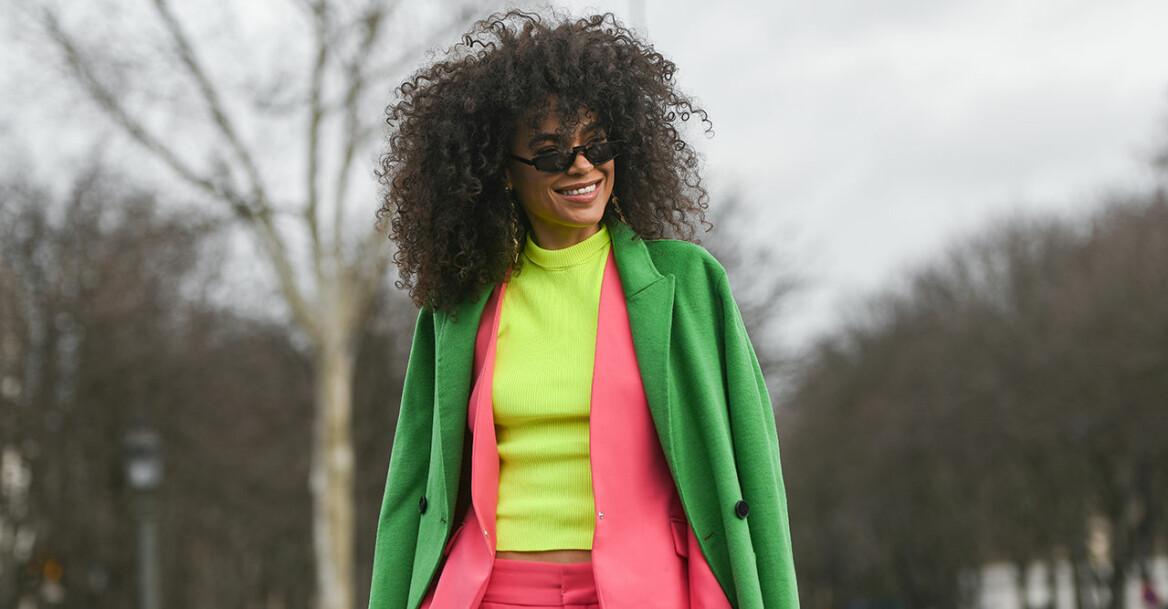 Streetstyle, neonfärgade kläder
