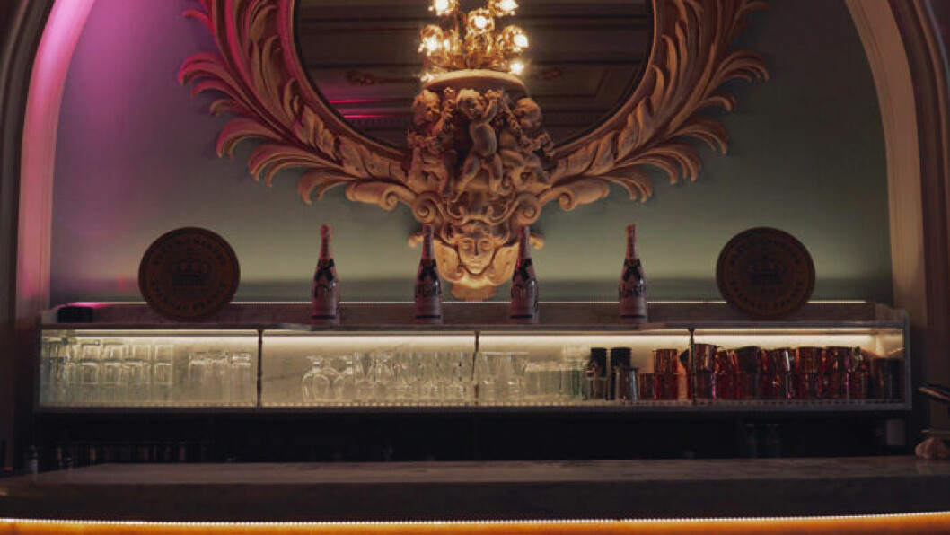 Detalj från Brasseriets vackra lokaler.