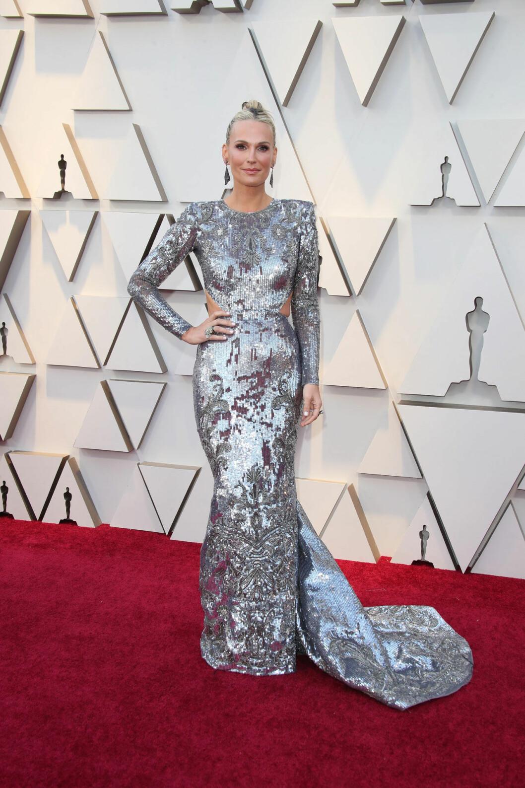 Molly Sims på Oscarsgalan 2019