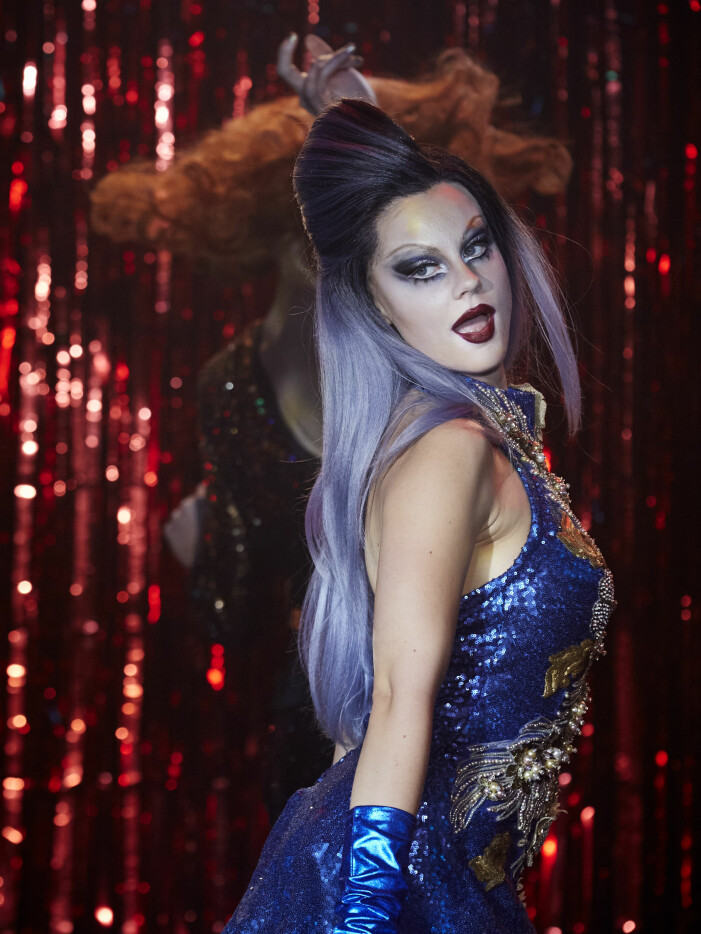 Molly Nutley som Dylan Pettersson i Netflix-filmen Dancing Queens.