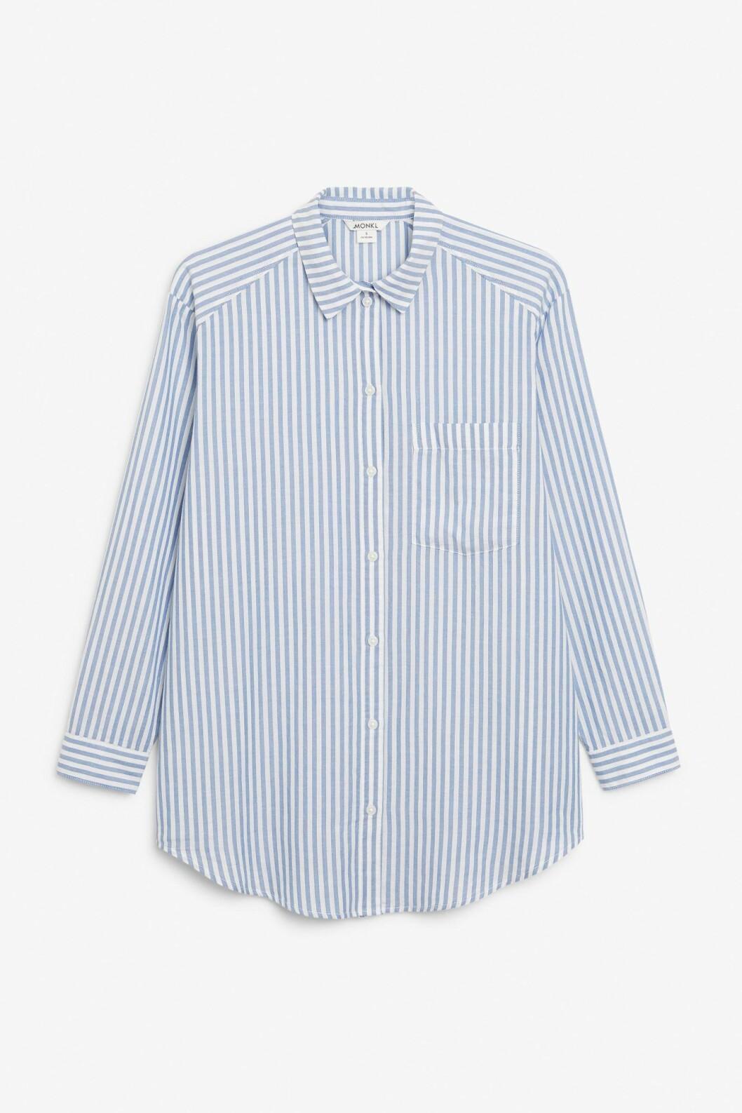 Randig skjorta från Monki.
