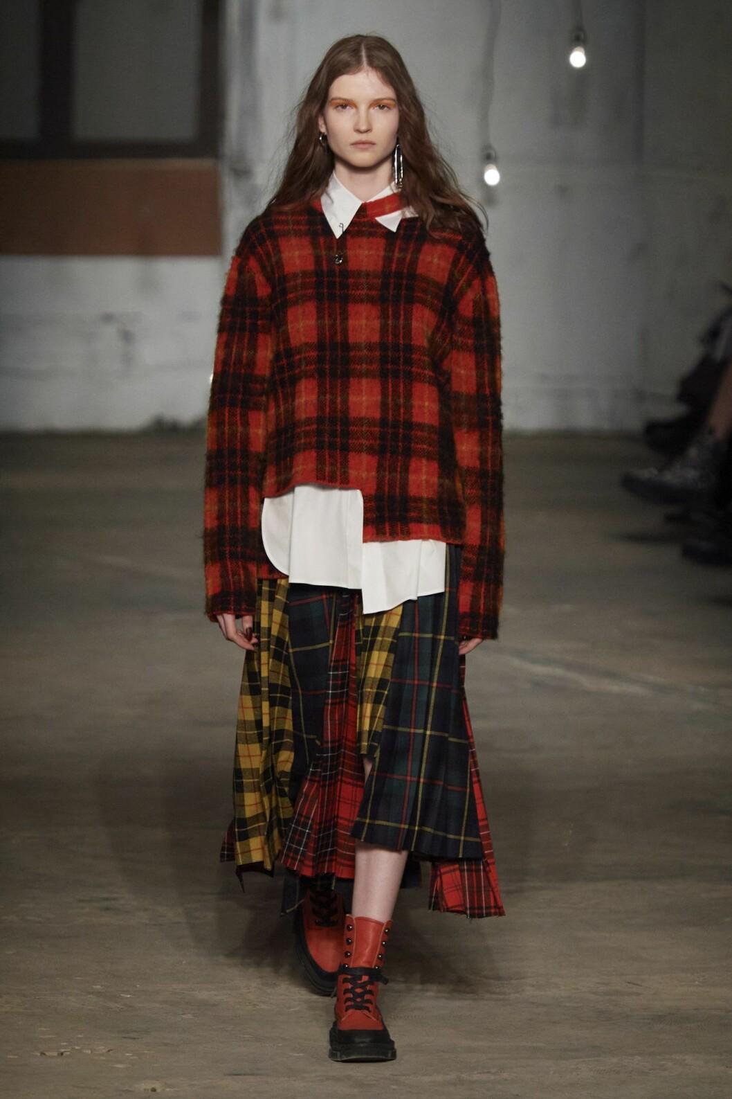 Rutig tröja hösten 2020