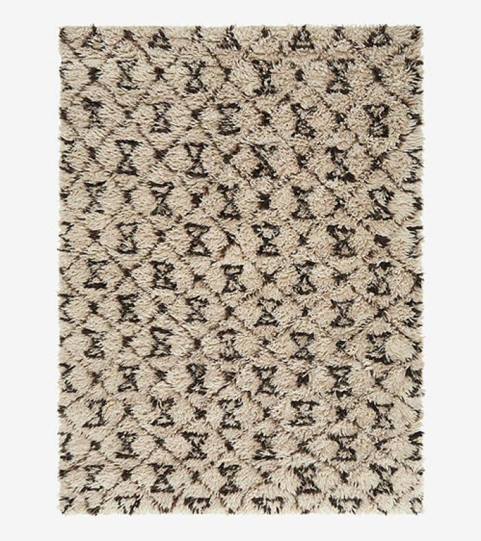 mönstrad matta från ellos home