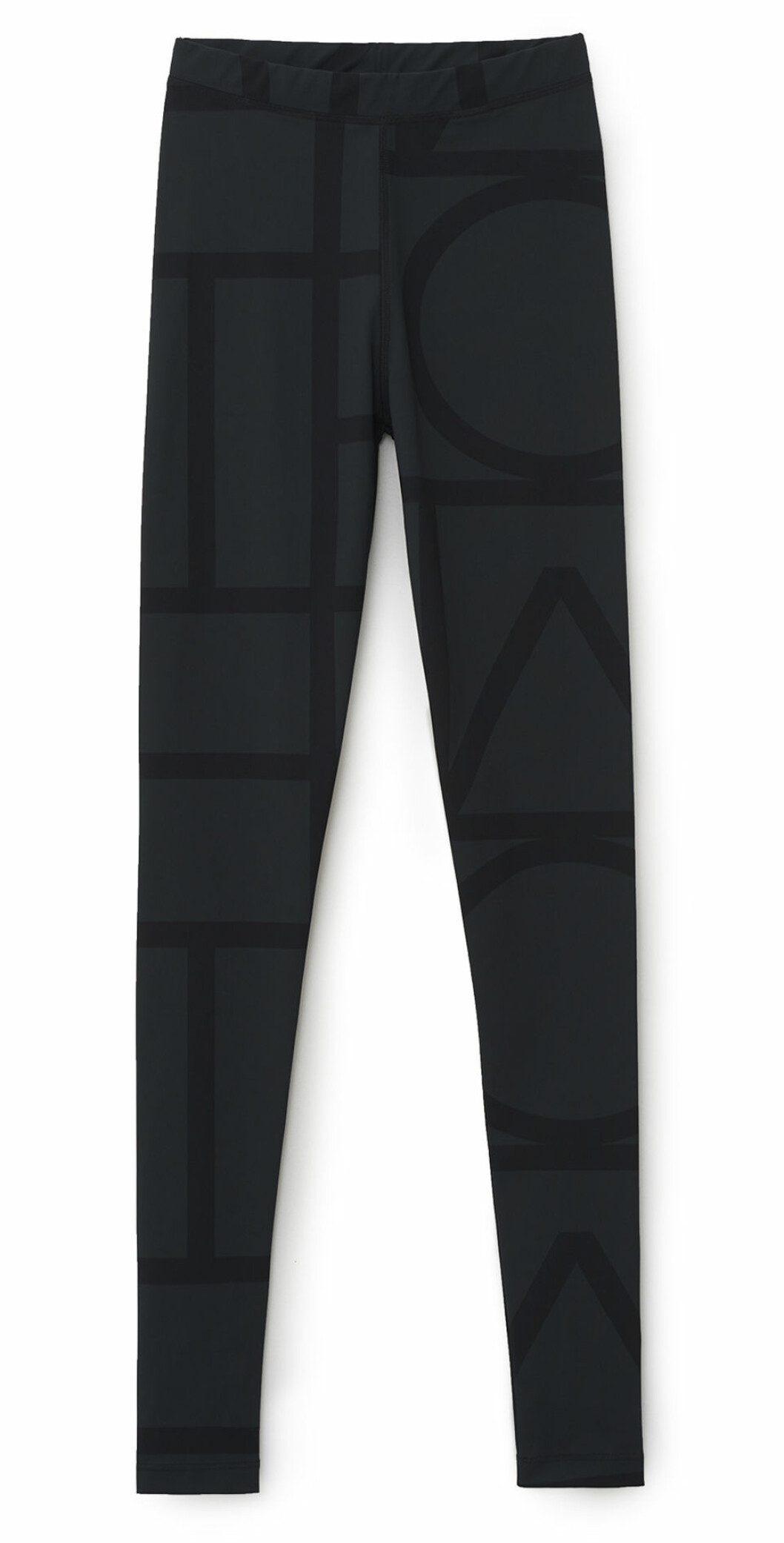 Leggings från Totême med diskret mönster.