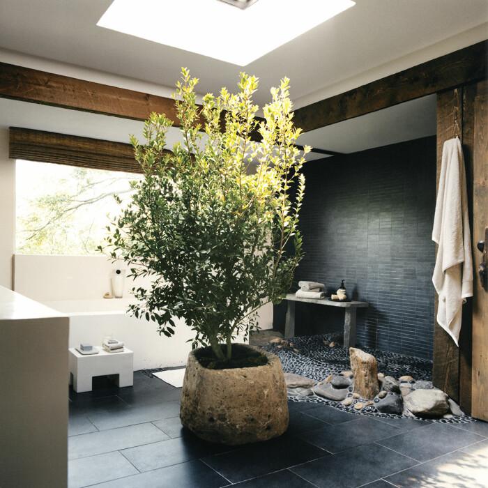 Montauk Long island sommarhus badrummet
