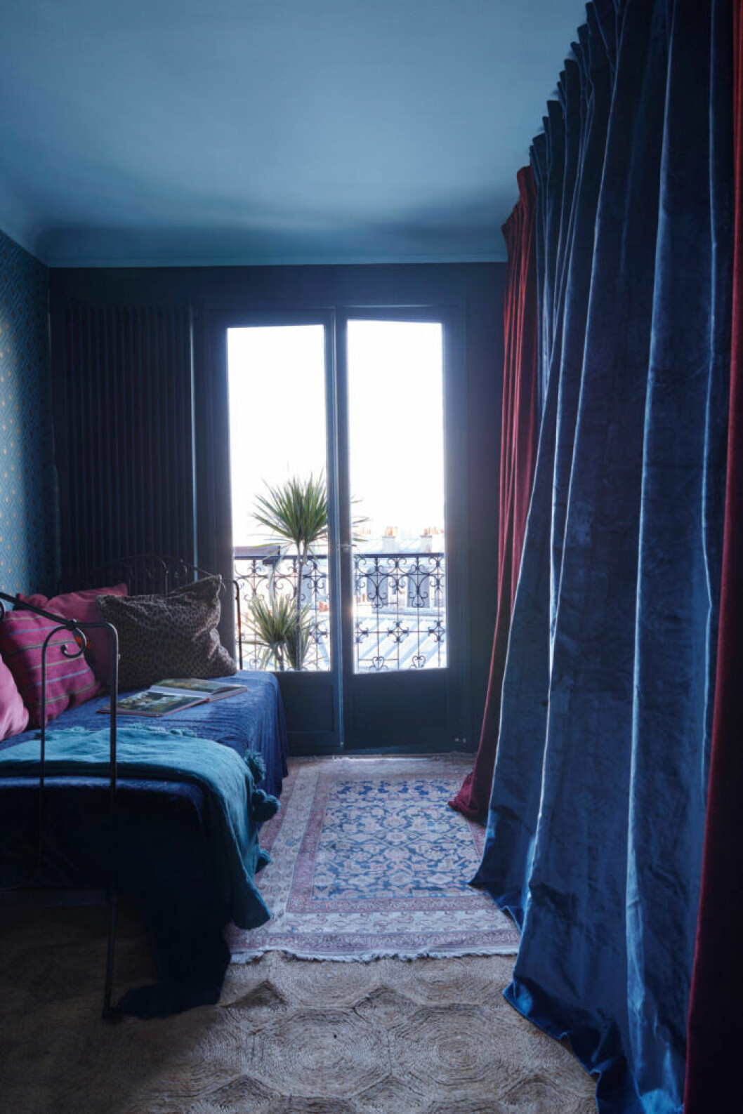 Hem i Montmartre, gästsovrum